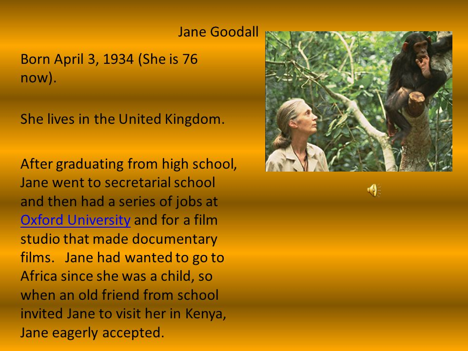 Jane Goodall, B.F. Skinner, Cesar Milan Noel Heath 4/8/10