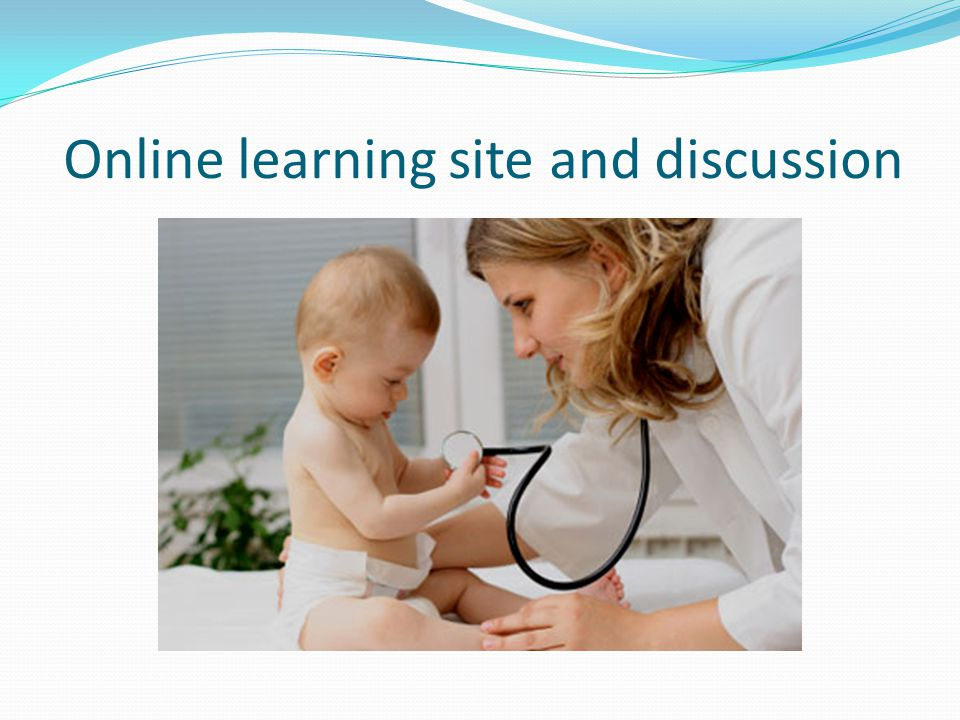 Online learning site and discussion