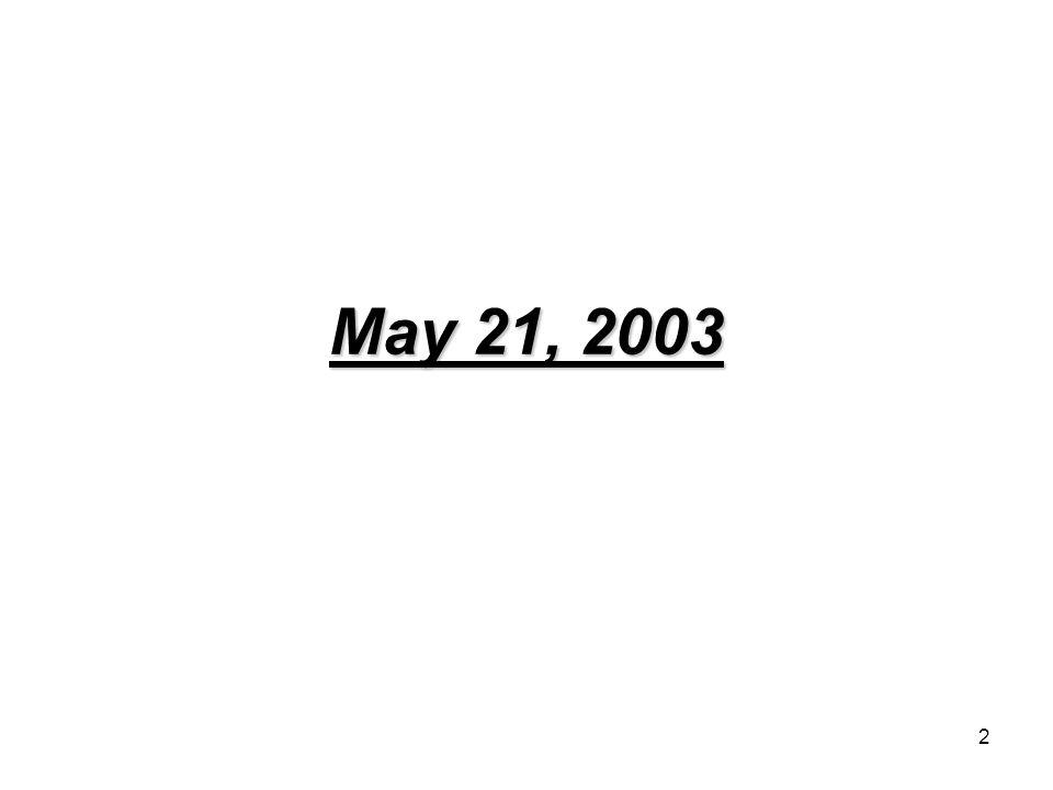 2 May 21, 2003