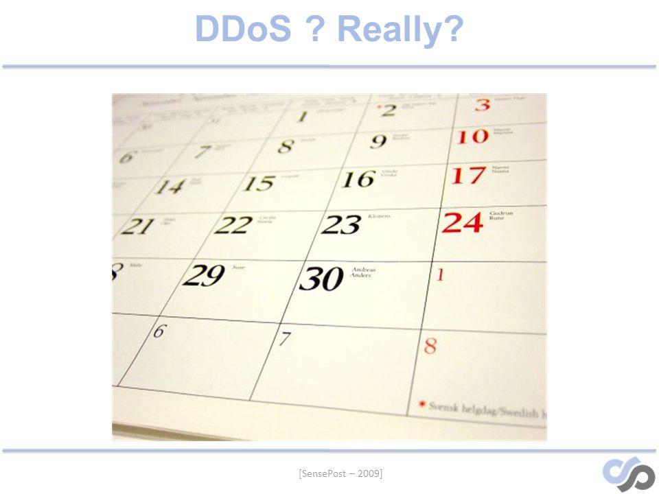 [SensePost – 2009] DDoS Really