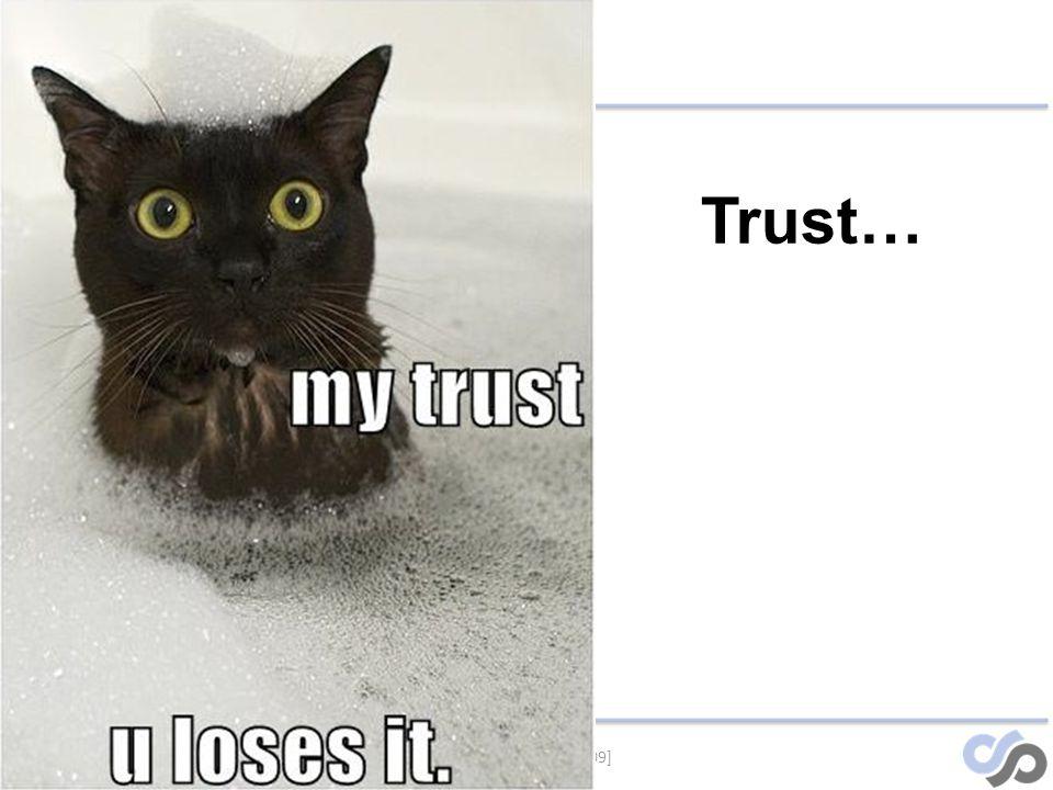 [SensePost – 2009] Trust…