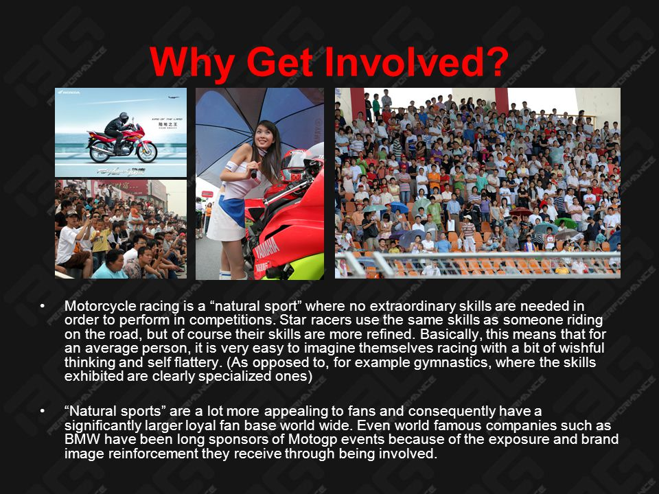 Why Get Involved.