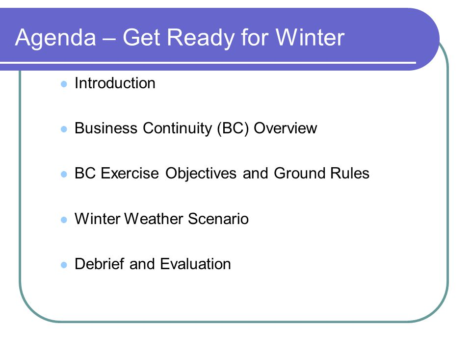 BC Plan Activation Should PHSKC emergency response plans or BC plans be activated at this time?