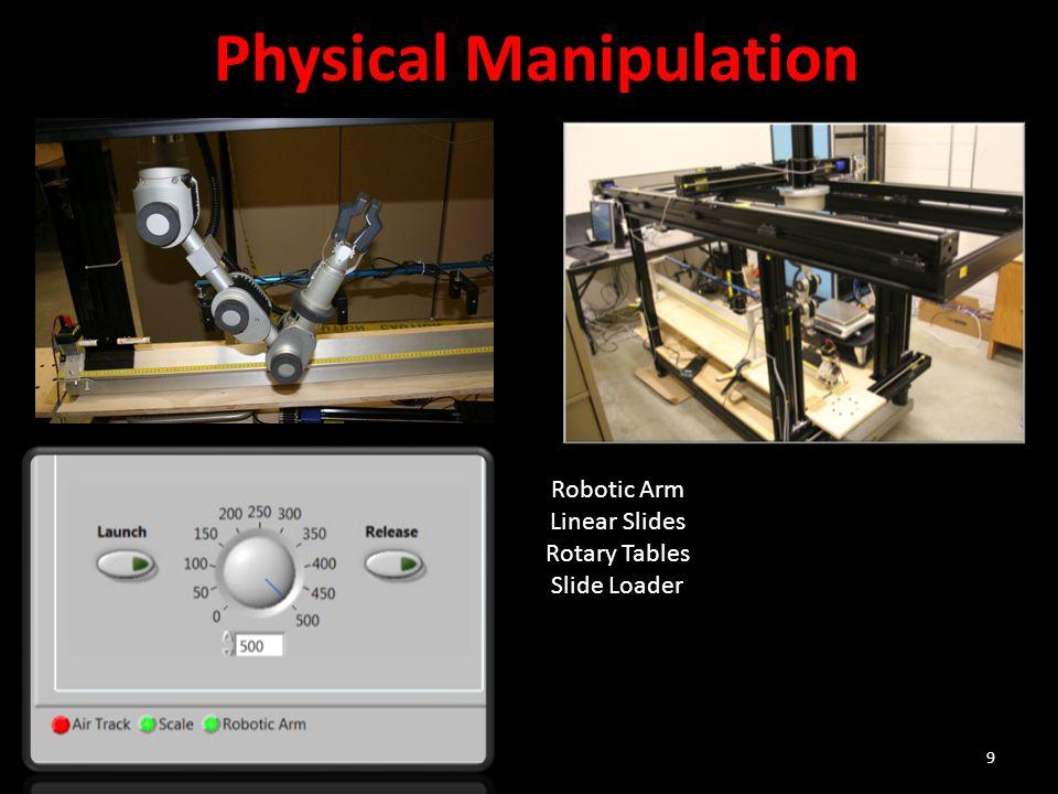 9 Robotic Arm Linear Slides Rotary Tables Slide Loader Physical Manipulation