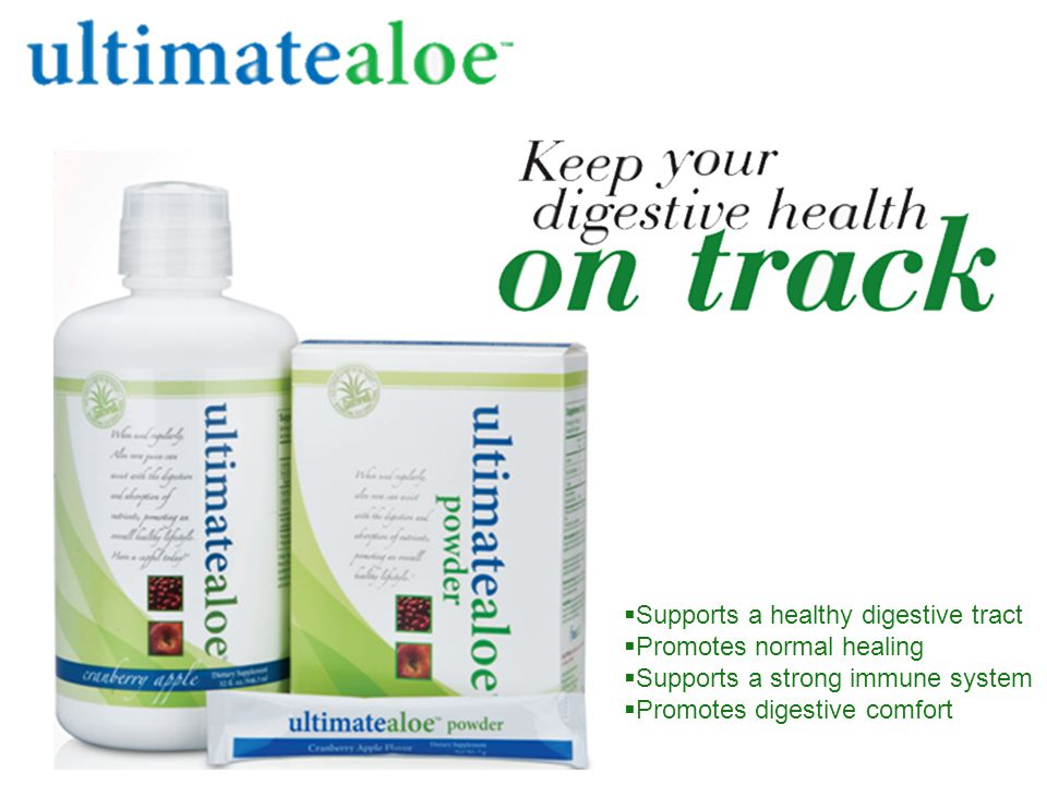  Supports a healthy digestive tract  Promotes normal healing  Supports a strong immune system  Promotes digestive comfort