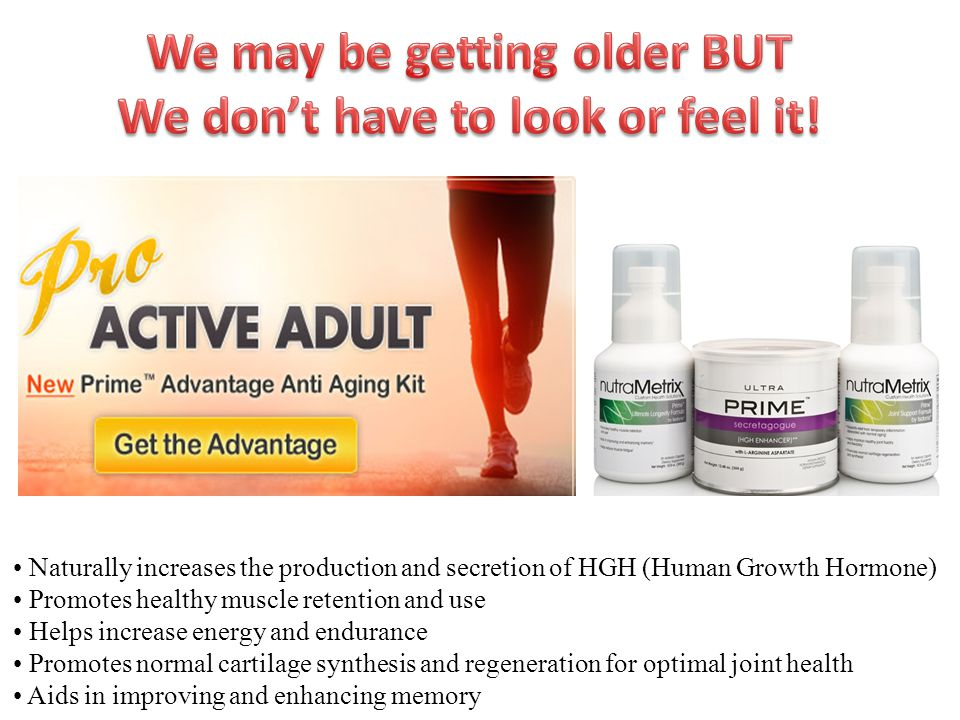 Naturally increases the production and secretion of HGH (Human Growth Hormone) Promotes healthy muscle retention and use Helps increase energy and end