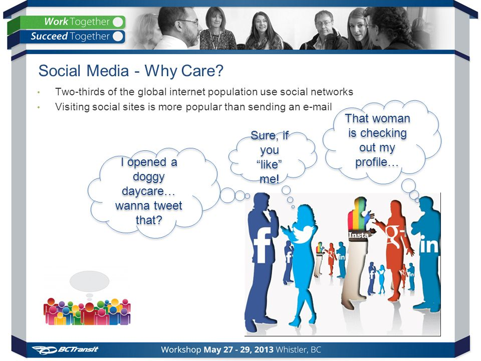 Social Media - Why Care.