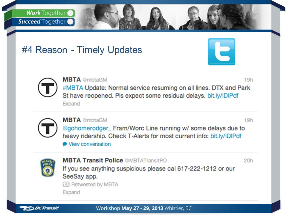 #4 Reason - Timely Updates