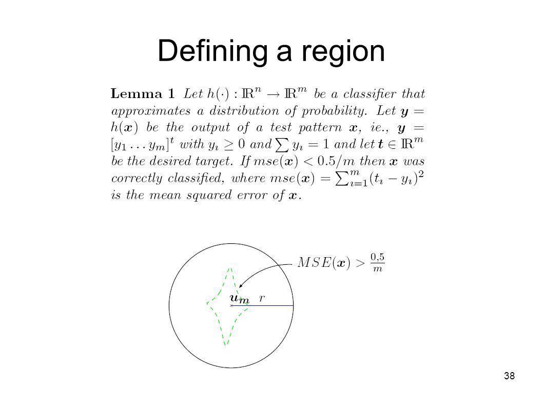 38 Defining a region