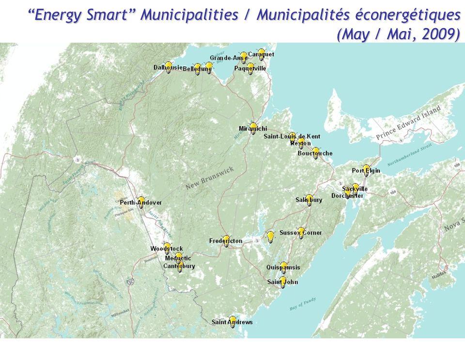 """Energy Smart"" Municipalities / Municipalités éconergétiques (May / Mai, 2009)"