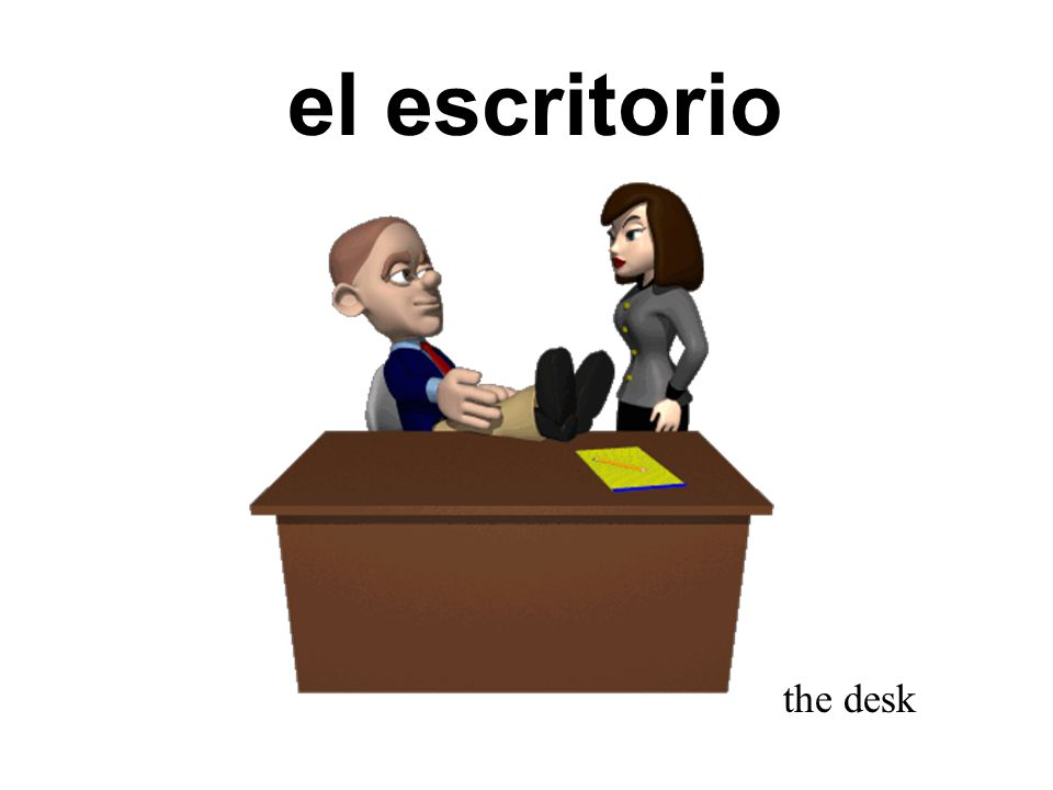 el diccionario the dictionary