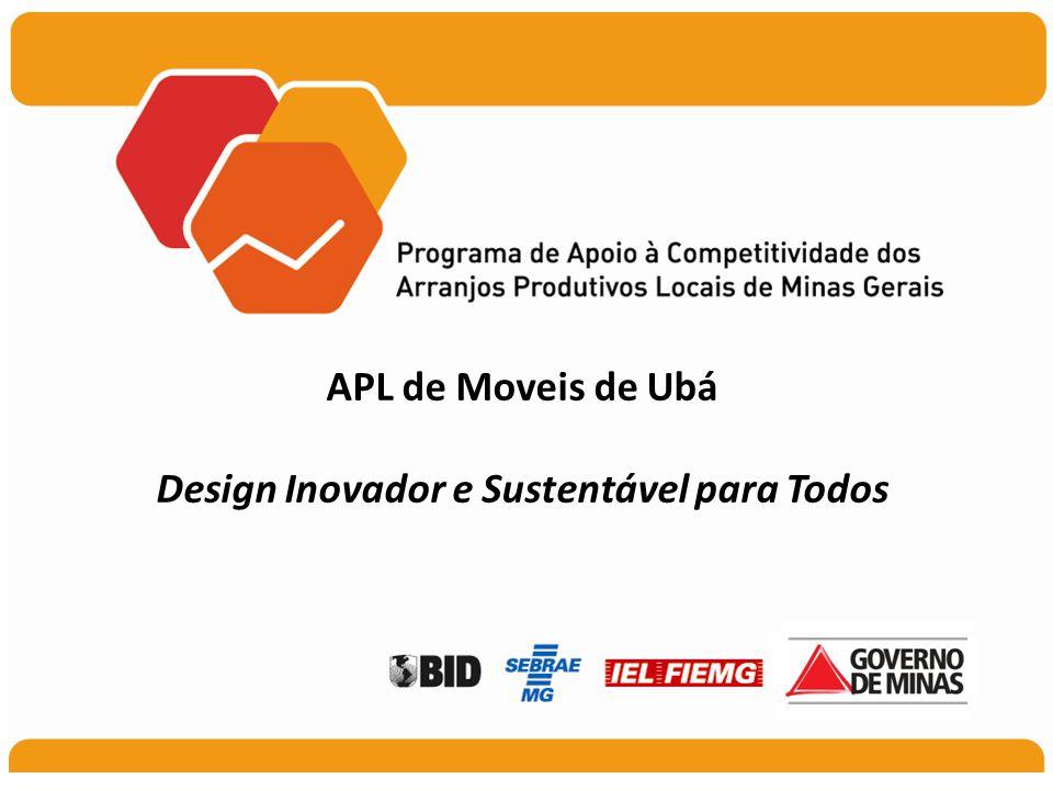 APL de Moveis de Ubá Design Inovador e Sustentável para Todos