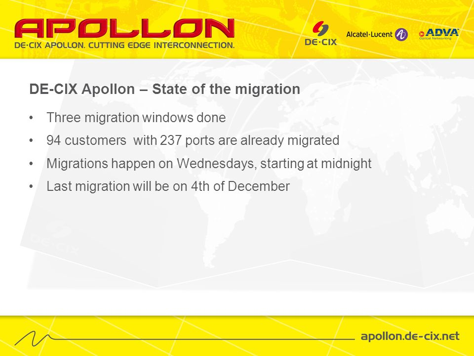 Migration – how does it work.