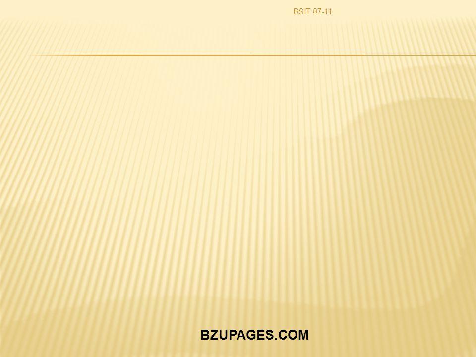 BZUPAGES.COM BSIT 07-11