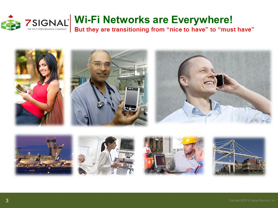 Copyright © 2014 7signal Solutions, Inc.What can rates and retries tell you.