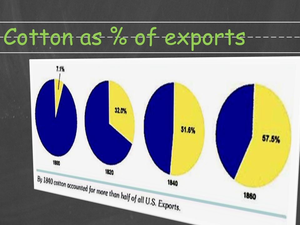 Cotton as % of exports (c) 2011 AIHE