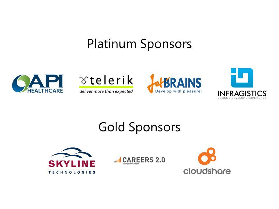 Platinum Sponsors Gold Sponsors