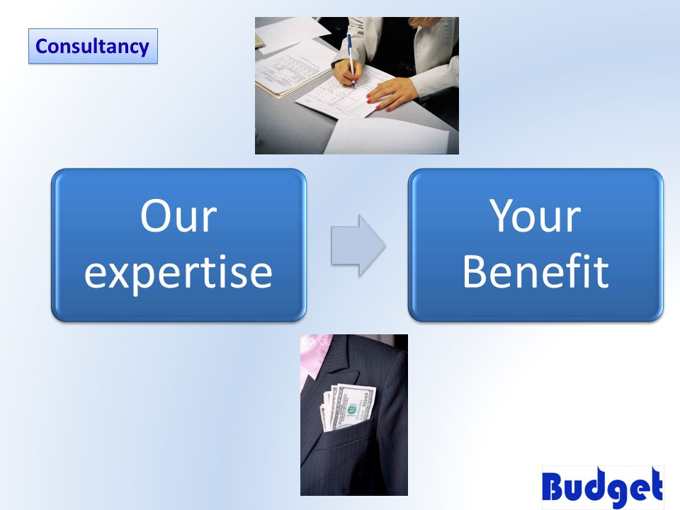 Our expertise Your Benefit Consultancy