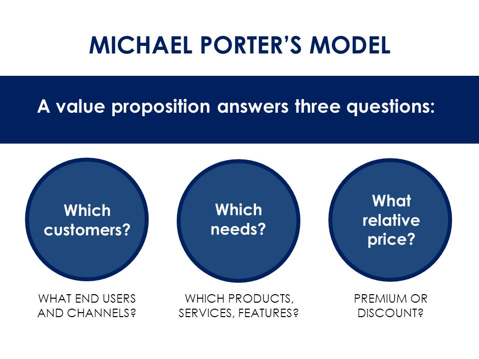 CREATING VALUE FOR CUSTOMERS  INNOVATION & NEWNESS o Creates new set of needs or solves problems customers didn't perceive or recognize o Usually related to technology or innovation in business models  Examples o Video games o Cell phones o Tablet computers o Satellite radio