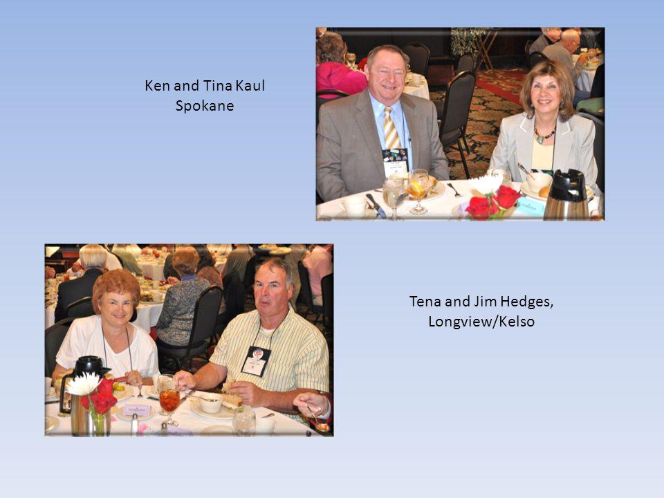 Ken and Tina Kaul Spokane Tena and Jim Hedges, Longview/Kelso