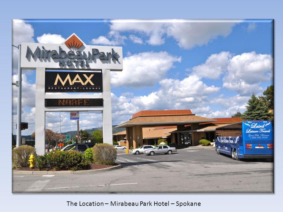 The Location – Mirabeau Park Hotel – Spokane