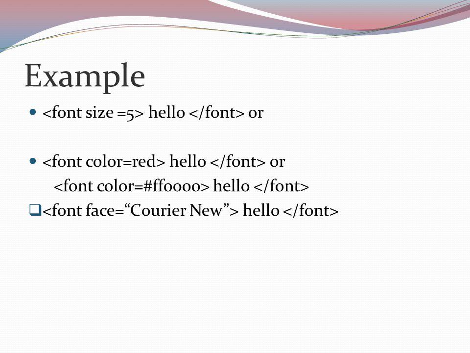 Example hello or hello or hello  hello