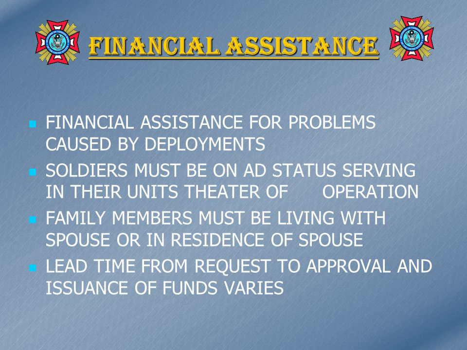 KEY AREAS OF MAP FINANCIAL ASSISTANCE THROUGH THE UNMET NEEDS PROGRAM FUNDS GRANT (TO HELP DEFRAY THE COSTS OF UNIT ACTIVITIES TO ICLUDE PARTIES, MEETINGS, ETC) MATCHING FUNDS GRANT (TO HELP DEFRAY THE COSTS OF UNIT ACTIVITIES TO ICLUDE PARTIES, MEETINGS, ETC) VETJOBS.COM VETJOBS.COM ADOPT-A-UNIT PROGRAM ADOPT-A-UNIT PROGRAM