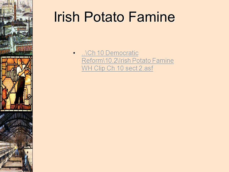 Irish Potato Famine..\Ch 10 Democratic Reform\10.2\Irish Potato Famine WH Clip Ch 10 sect 2.asf..\Ch 10 Democratic Reform\10.2\Irish Potato Famine WH Clip Ch 10 sect 2.asf..\Ch 10 Democratic Reform\10.2\Irish Potato Famine WH Clip Ch 10 sect 2.asf..\Ch 10 Democratic Reform\10.2\Irish Potato Famine WH Clip Ch 10 sect 2.asf