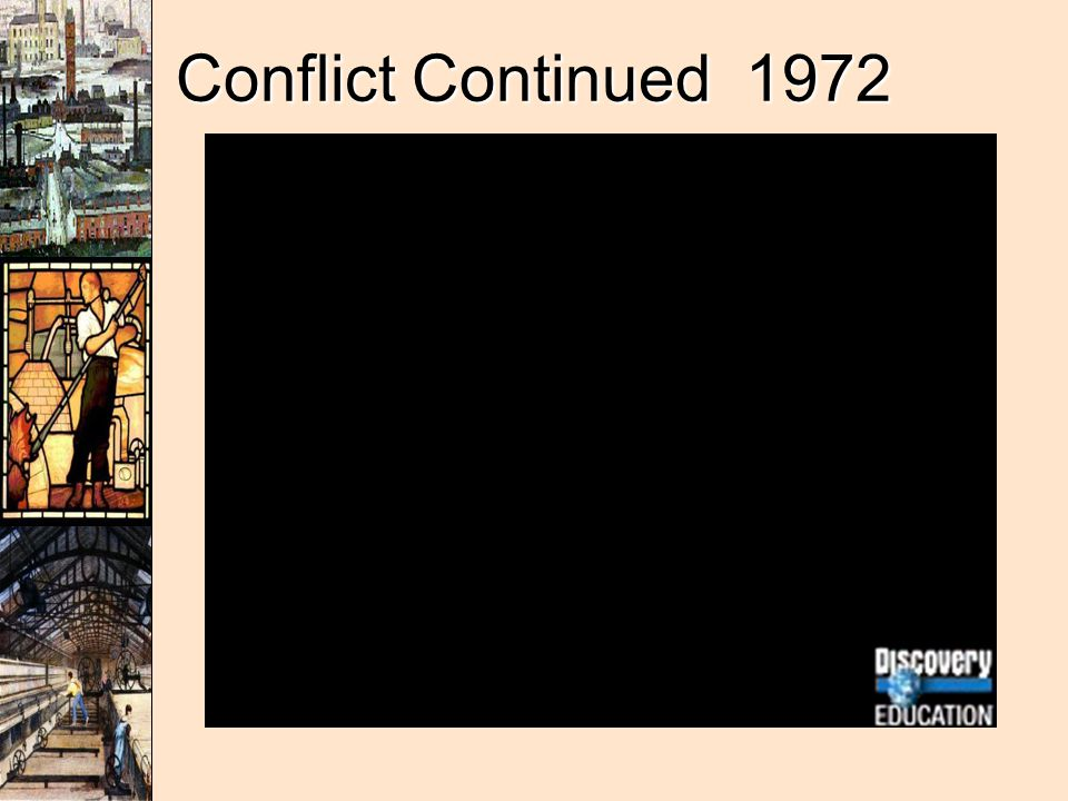 Conflict Continued 1972