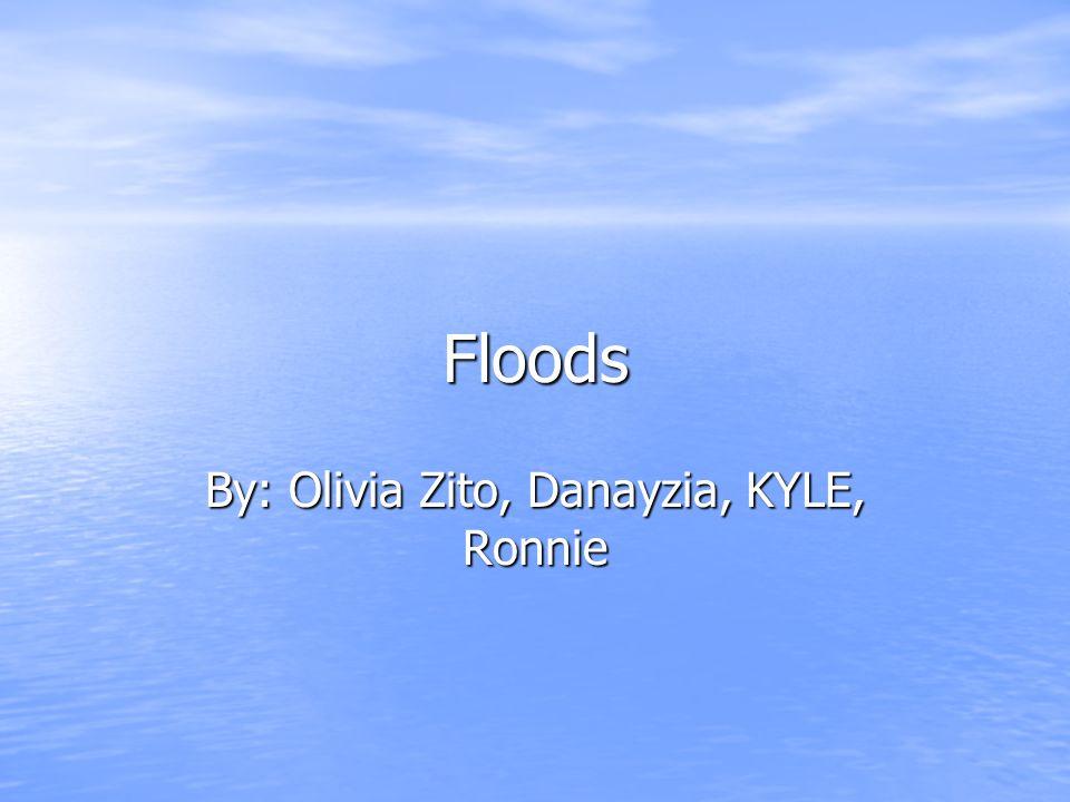 Floods By: Olivia Zito, Danayzia, KYLE, Ronnie