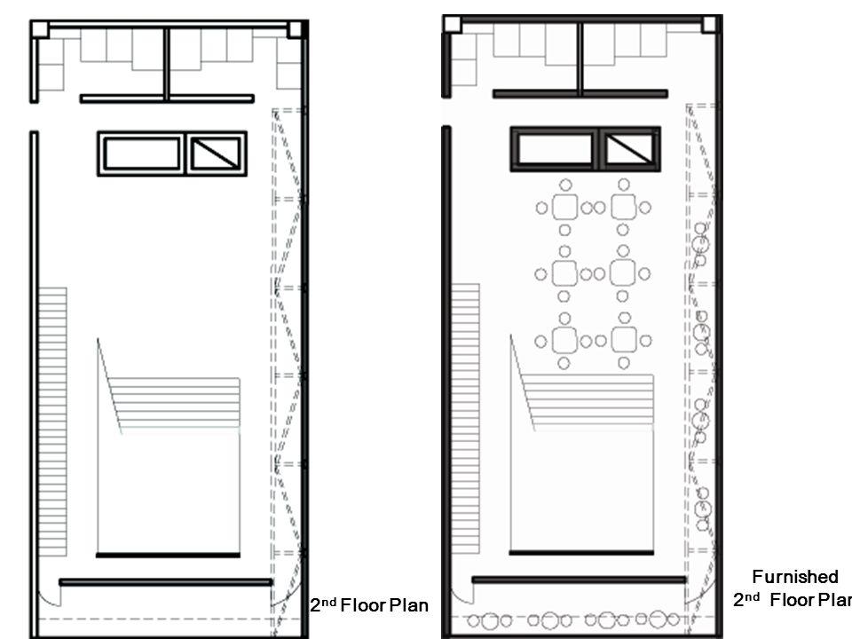 2 nd Floor Plan Furnished 2 nd Floor Plan