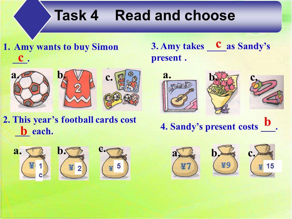 5.Kitty can buy Simon ____. 6. Kitty can buy Sandy _____.