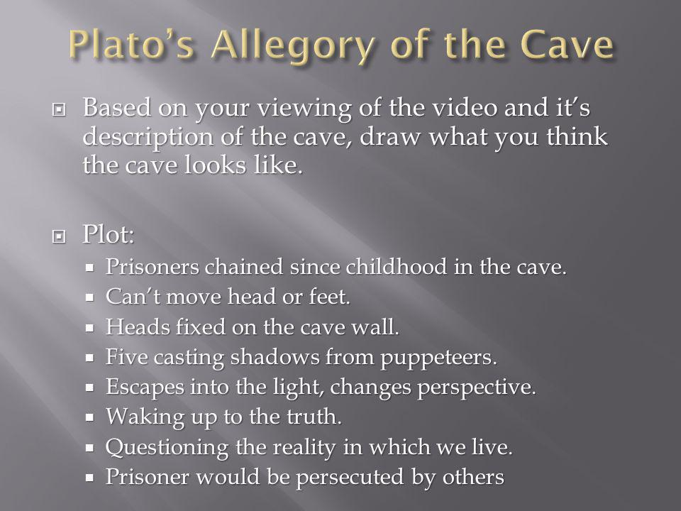  Based on your viewing of the video and it's description of the cave, draw what you think the cave looks like.
