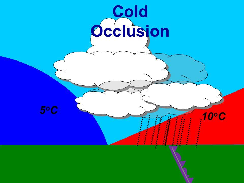 25 kts 15 kts 5oC5oC 10 o C Cold Occlusion