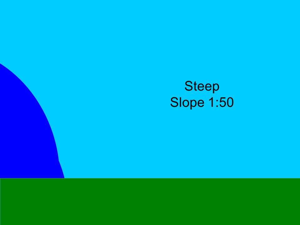 25 kts Steep Slope 1:50