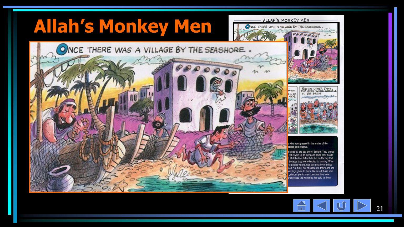 21 Allah's Monkey Men