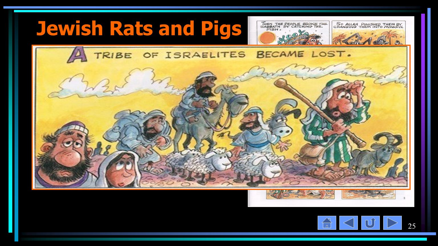 25 Jewish Rats and Pigs