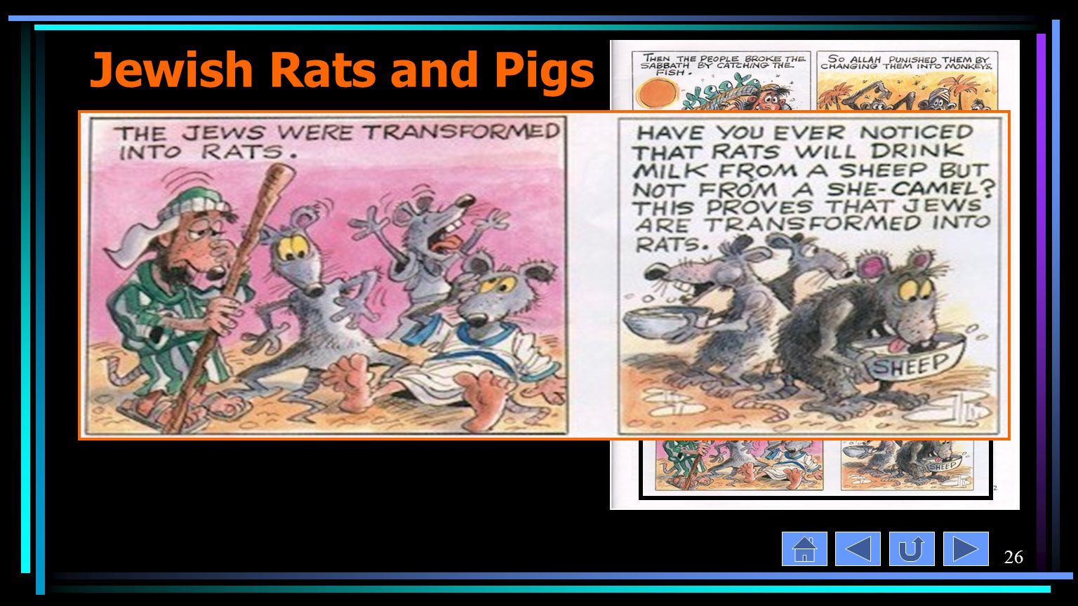 26 Jewish Rats and Pigs