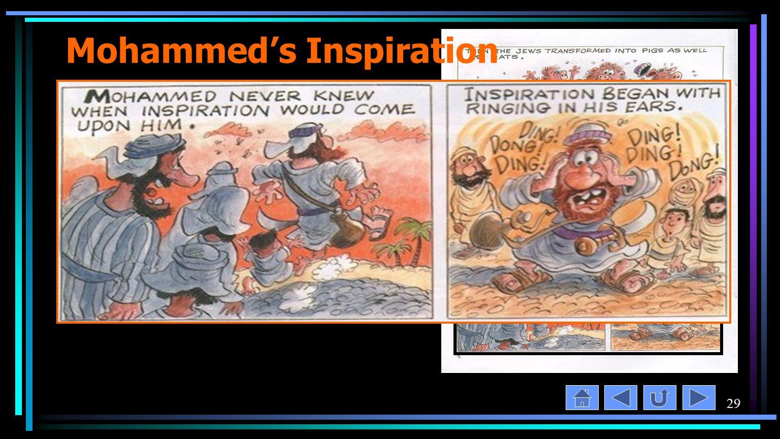 29 Mohammed's Inspiration