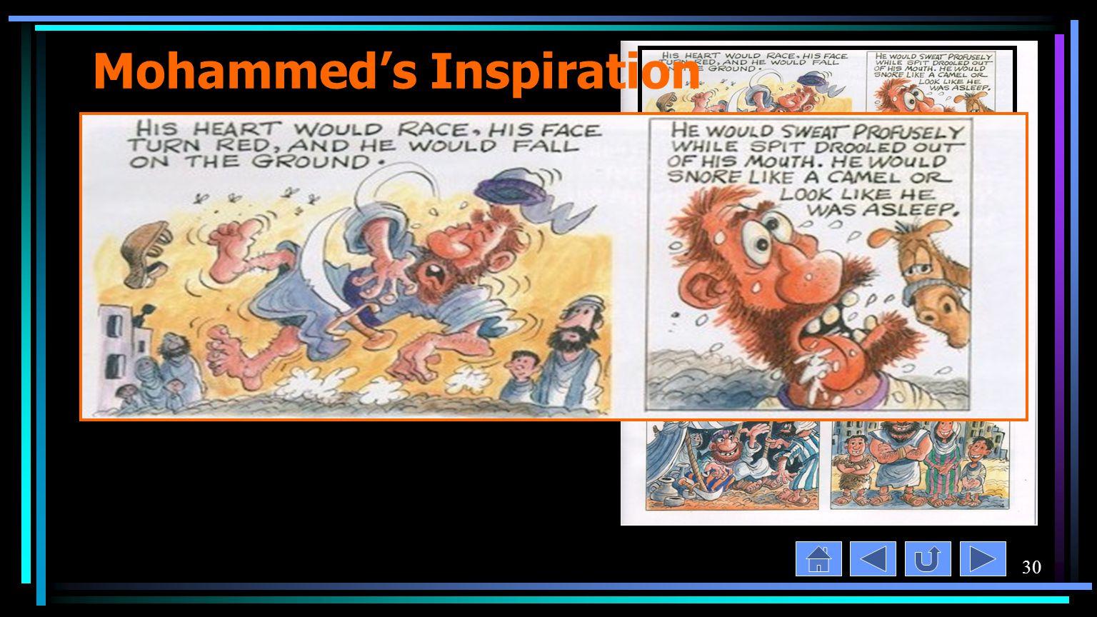 30 Mohammed's Inspiration