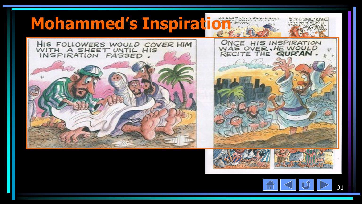 31 Mohammed's Inspiration