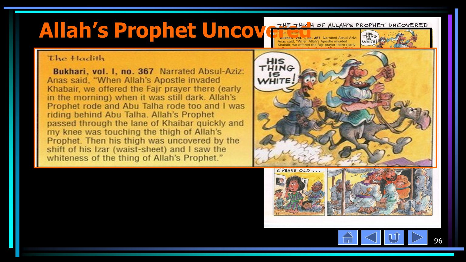 96 Allah's Prophet Uncovered