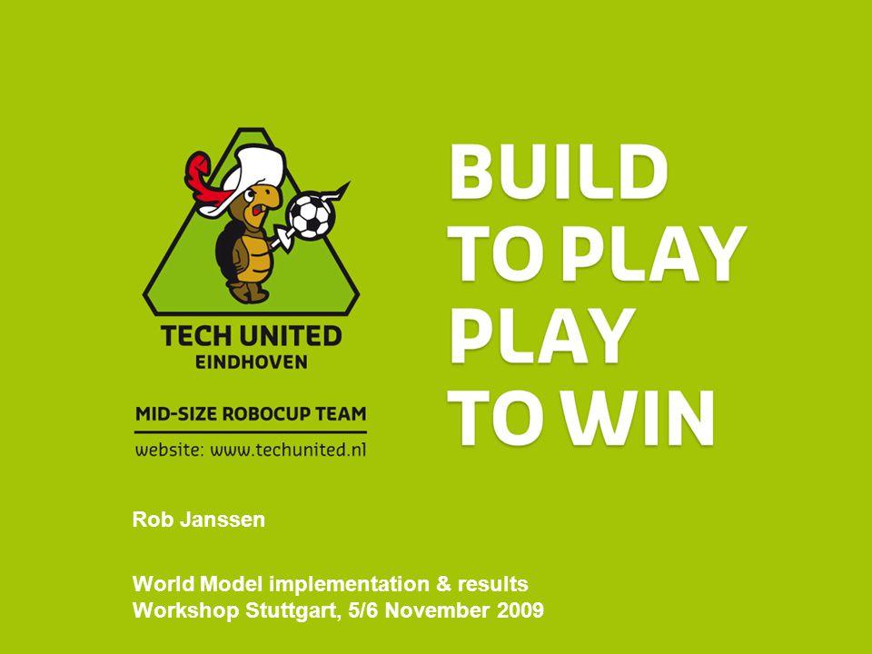 World Model implementation & results Workshop Stuttgart, 5/6 November 2009 Rob Janssen