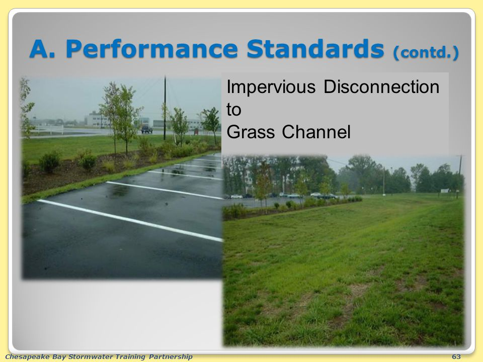 Chesapeake Bay Stormwater Training Partnership63 A.