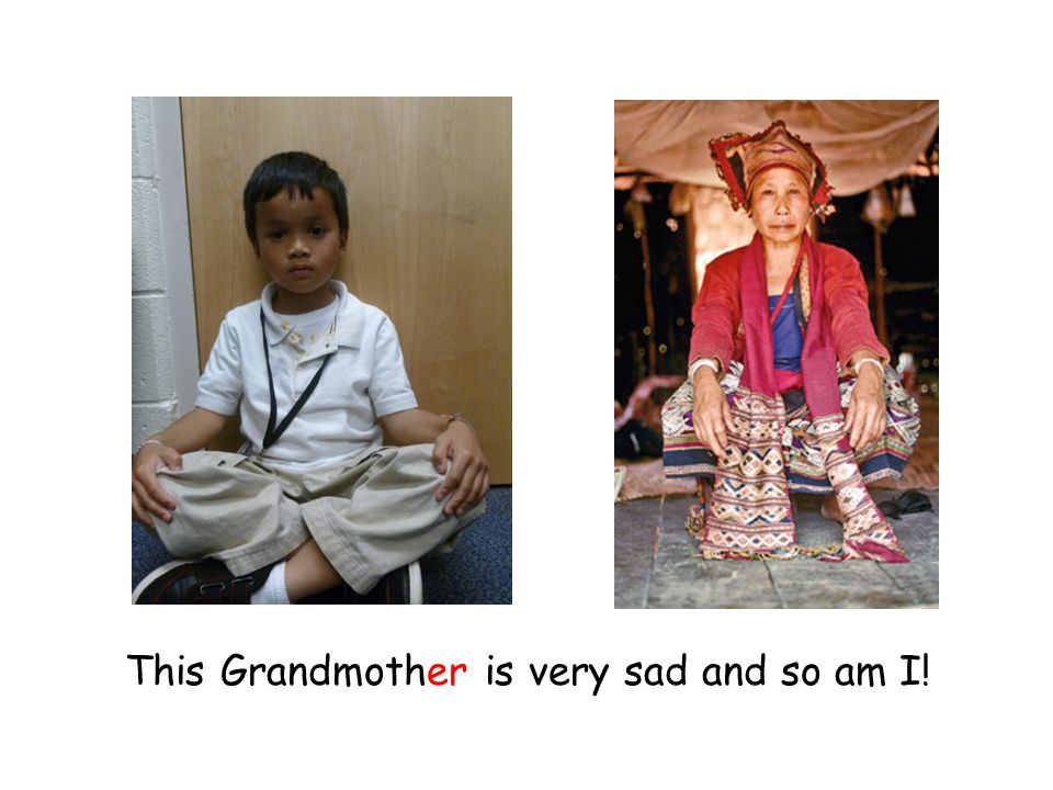 This Grandmother is very sad and so am I!