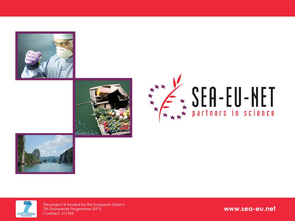 www.sea-eu.net Disclaimer: These information might change.