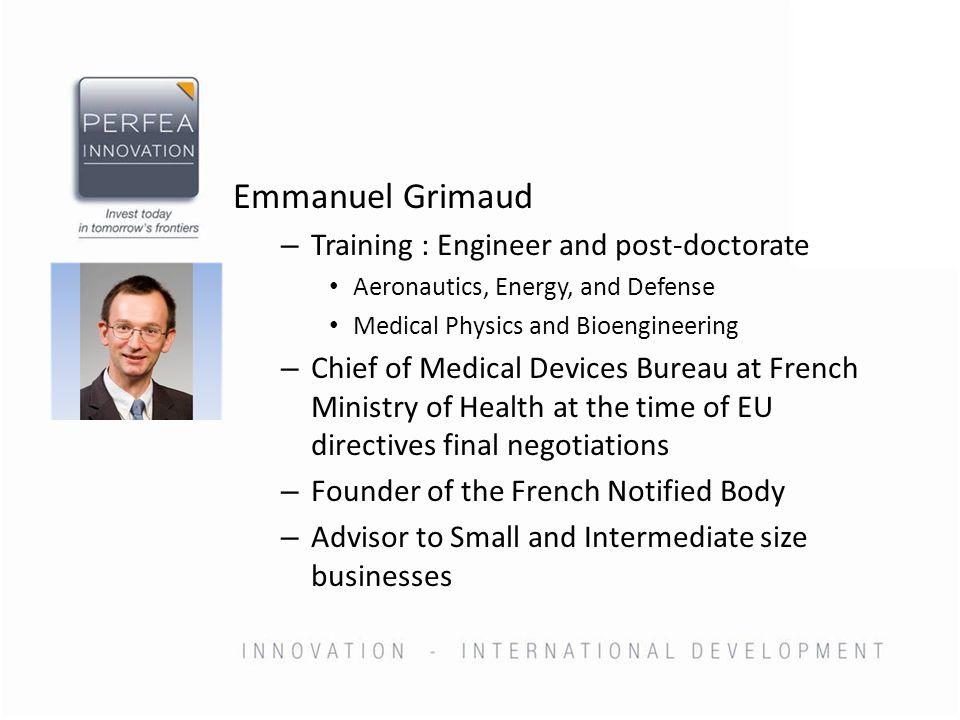 Agenda Origin of Regulatory framework in EU for Medical Devices Basic framework New trends and expected evolutions