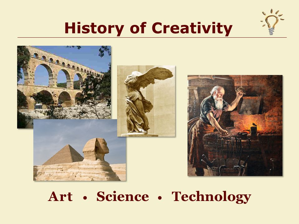 History of Creativity Art Science Technology 