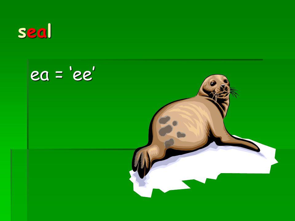 seal ea = 'ee'