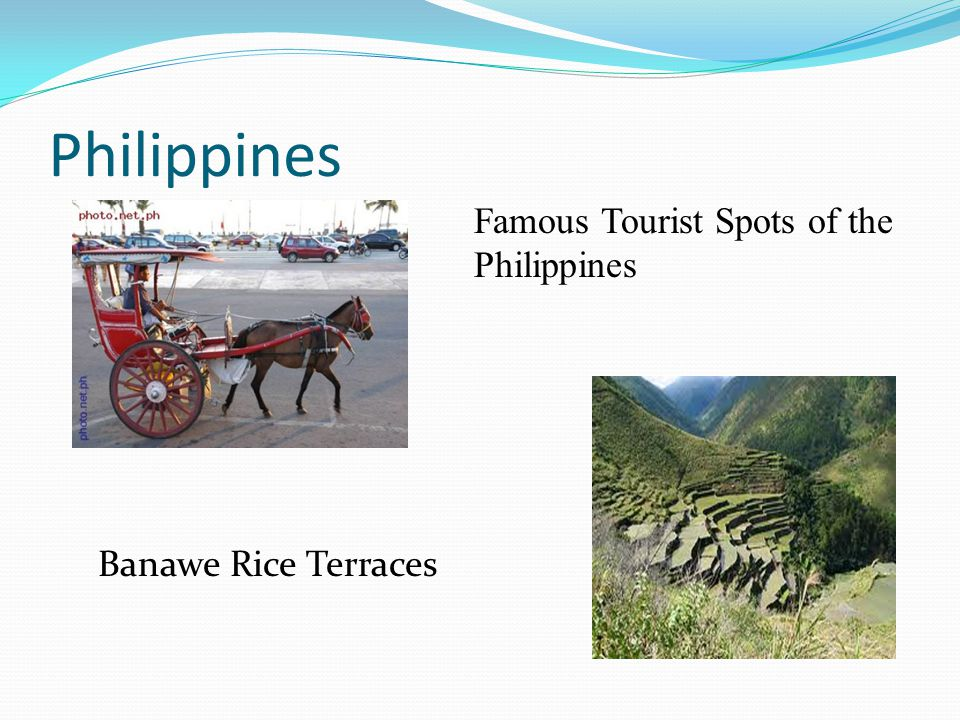 Philippines Famous Tourist Spots of the Philippines Banawe Rice Terraces